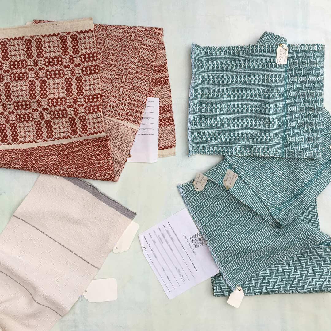 8-shaft weaving patterns