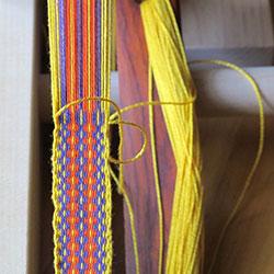 Inkle weaving pattern from Weaver's Inkle Pattern Directory by Anne Dixon