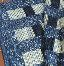 Learn how to weave this Batik rug weaving project in this free ebook on handwoven rugs.