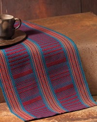 Learn the process of winding a warp with many colors and a complex warp order pattern.