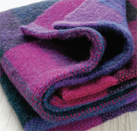 A Lush, Brushed Blanket by Liz Moncrief