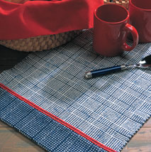 You'll love making this woven table runner that involves a favorite block weave, log cabin.