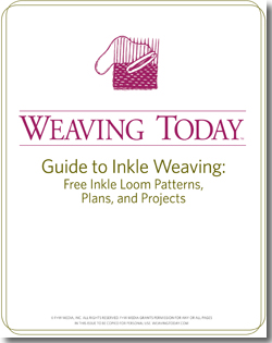 Learn everything you need to know about inkle loom weaving in this free ebook