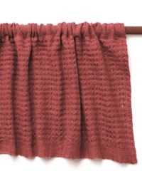 Learn how to use a rigid heddle loom with this free handwoven curtain project.