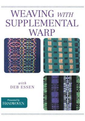 weaving with Supplemental warp_deb essen