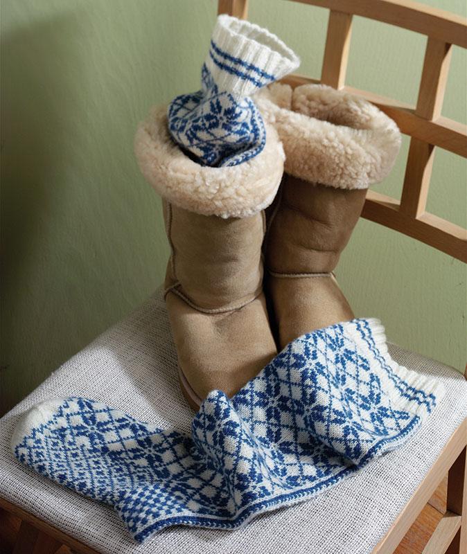 Norwegian knee-high stockings