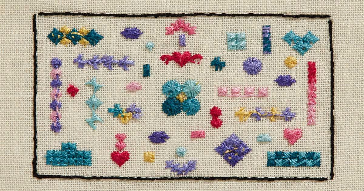 Rhodes stitch