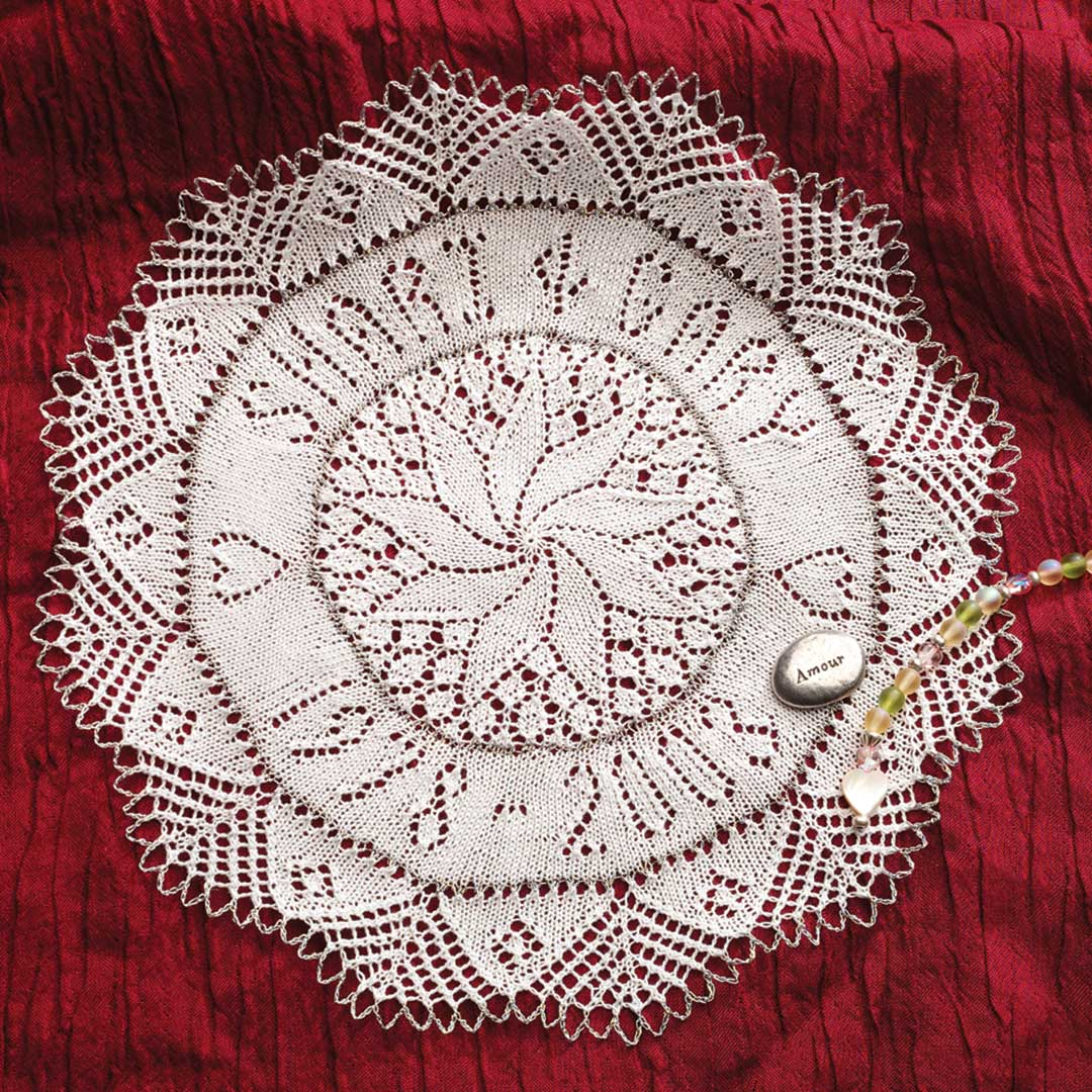 knitted doilies