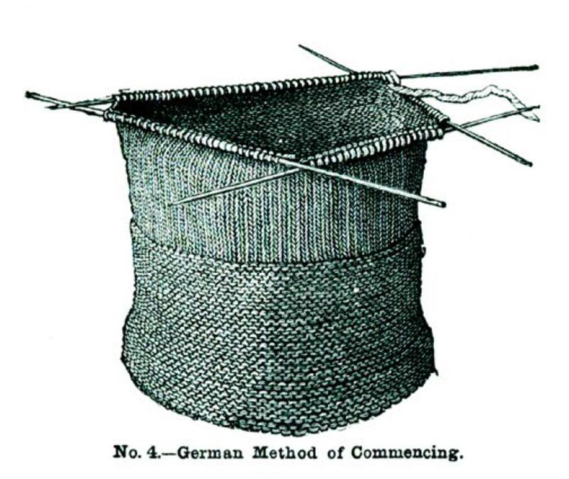 knitting stockings
