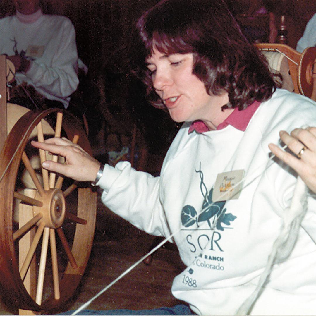 spin yarn