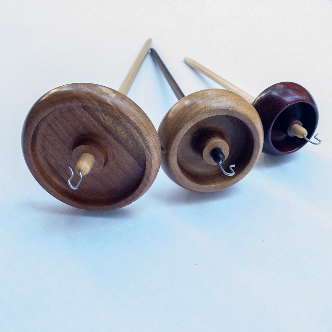 drop-spindle plying