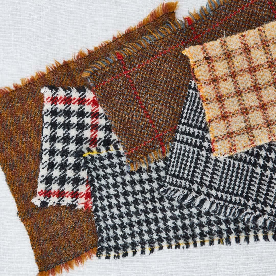 spinning tweed yarn