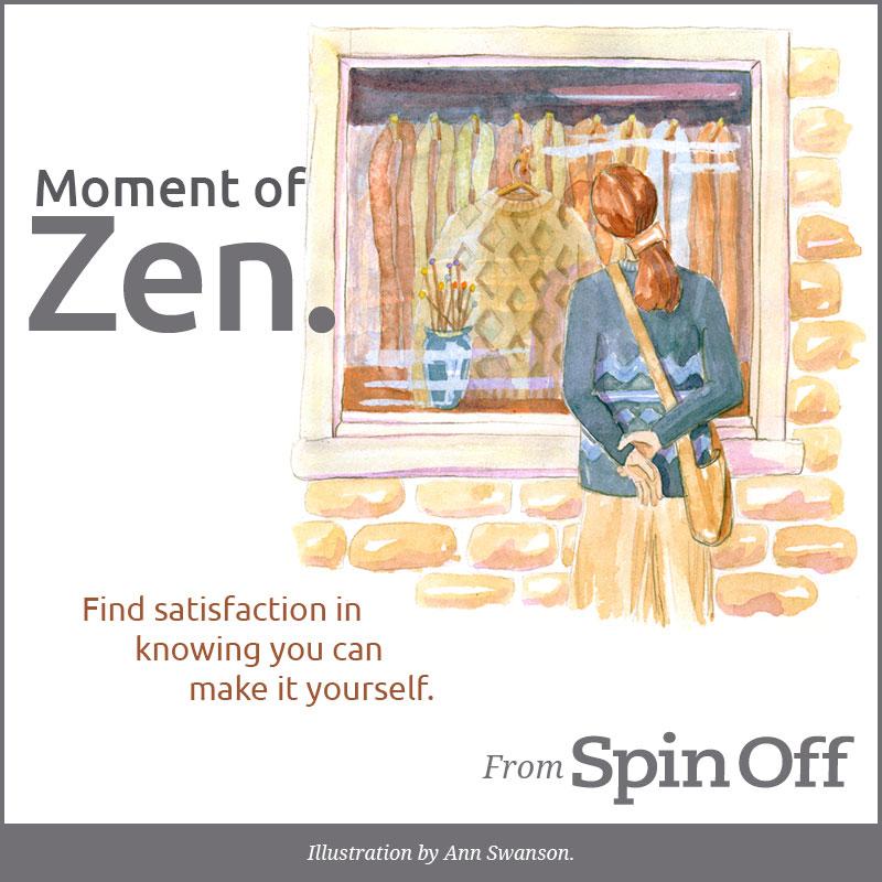 Moment of Zen-Satisfaction