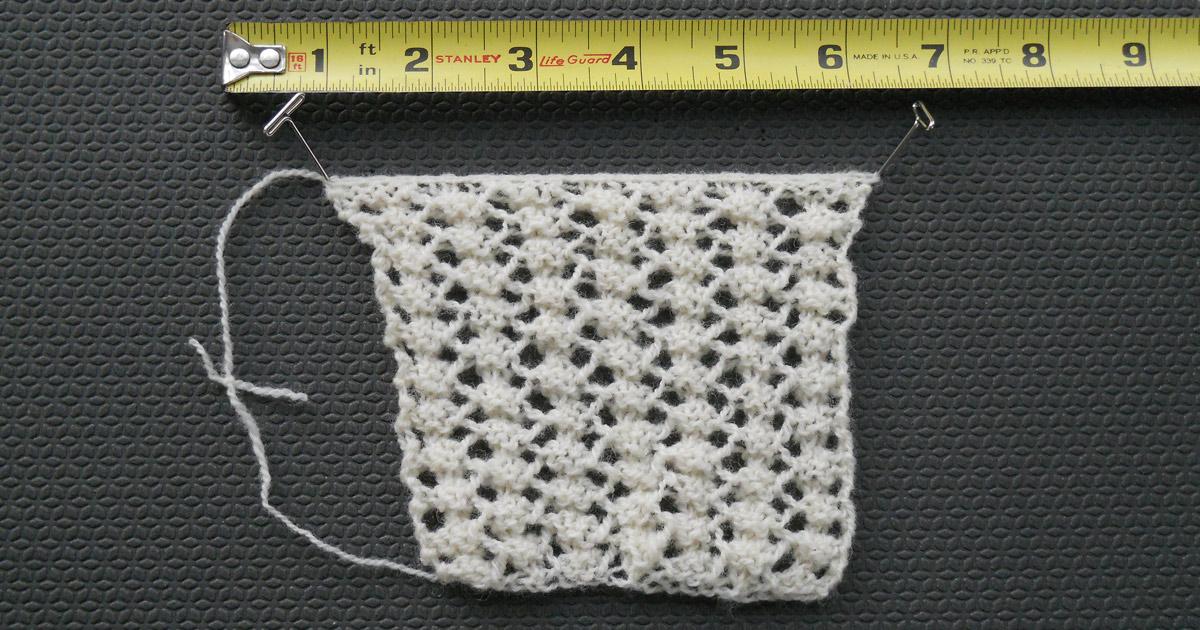 sewn bind-off