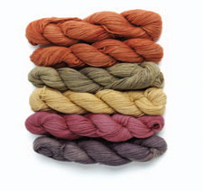 Learn everything you need to know about dyeing yarn in our free Dyeing Yarn eBook such as finding color from weeds.