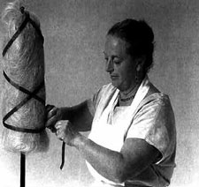 Learn everything you need to know about spinning line flax including drafting, involving the use of a distaff, preparing the flax for spinning and more.